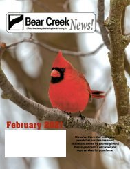 Bear Creek February 2021