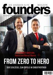 founders Magazin Ausgabe 21