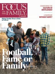 Focus on the Family Magazine - February/March 2021
