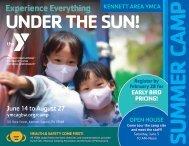 Kennett Area YMCA Summer Camp Guide - 2021