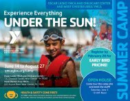 Oscar Lasko and West Chester Area YMCA Summer Camp Guide - 2021