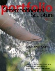 Portfolio Intercontinental Sculpture No.2 - Vanessa Paschakarnis