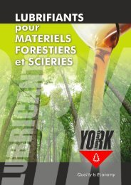 YORK PLAQUETTE FORESTIER ET SCIERIES