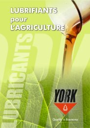 YORK PLAQUETTE L'AGRICULTURE