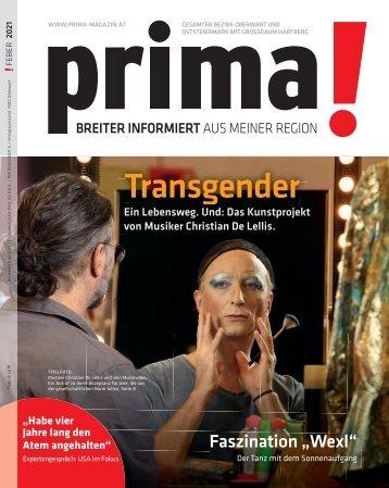Prima Magazin - Ausgabe Februar 2021