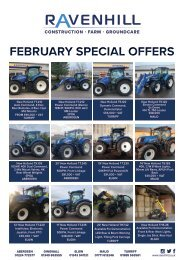 Ravenhill Monthly Featured Machines A4 February 2021