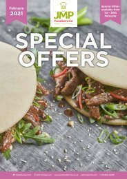 JMP Foodservice February 2021 Offers