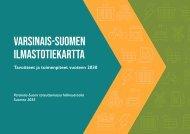 Varsinais-Suomen ilmastotiekartta vuoteen 2030