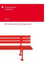 Kreissparkasse Heinsberg 2010 Wir machen das mit der Sparkasse!