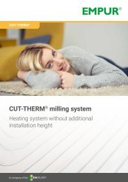 CUT-THERM milling system