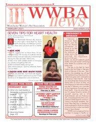 WWBA February 2021 Newsletter - M