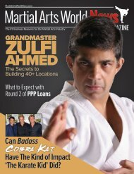 Martial Arts World News Magazine - Volume 21 | Issue 1