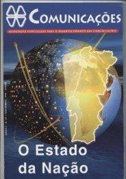 COMUNICAÇÕES 87 - O ESTADO DA NAÇÃO (1998)