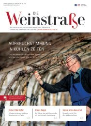 Die Weinstraße - Jänner/Februar 2021