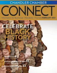 Chandler Chamber February 2021 CONNECT Magazine