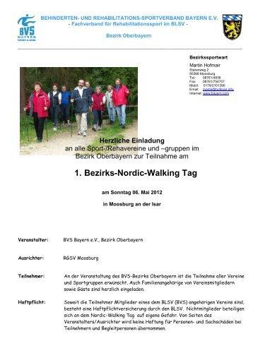 1. Bezirks-Nordic-Walking Tag - Behinderten- und Versehrten ...
