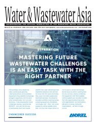 Water & Wastewater Asia July/August 2020