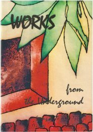 AAS LitMag 2003 Works from the underground