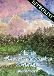 The Literary Magazine 2013