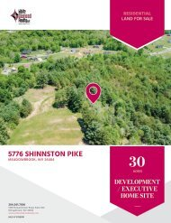 5776 Shinnston Pike Marketing Flyer