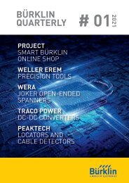 Bürklin Elektronik Quarterly #01 Englisch
