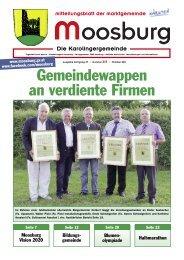 Ausgabe Nummer 213, Oktober 2011 - Marktgemeinde Moosburg