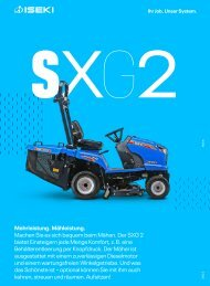 Mähtraktor SXG 216