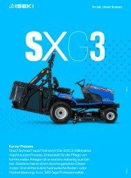 Mähtraktor SXG 3xx Serie