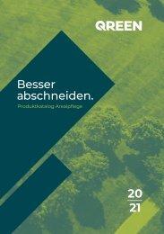 QUREEN Gartengeräte Katalog 2020