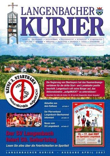 [PDF] Kurier - Langenbach
