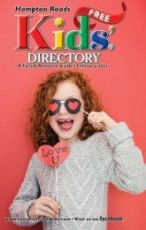 Hampton Roads Kids' Directory: February 2021