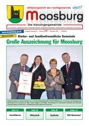 Große Auszeichnung für Moosburg