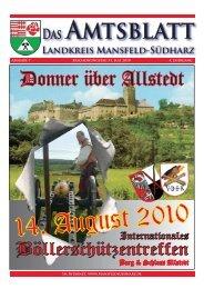 Donner über Allstedt - Landkreis Mansfeld-Südharz
