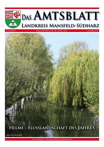 Amtsblatt - Landkreis Mansfeld-Südharz