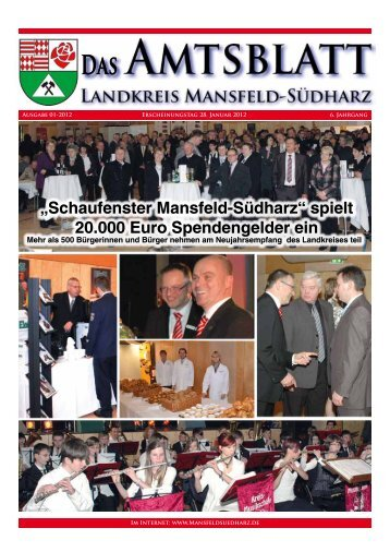 Ausgabe Januar 2012 - Landkreis Mansfeld-Südharz