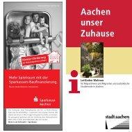 Leitfaden Wohnen für Migrantinnen und Migranten ... - Stadt Aachen