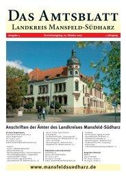 Oktober - Landkreis Mansfeld-Südharz