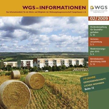 WGS – INFORMATIONEN - wgs-sgh.de