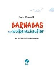 Barnabas der Wolkenschaufler: Leseprobe