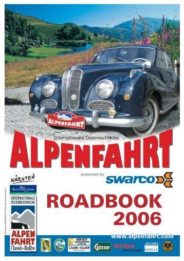 Int. Österreichische Alpenfahrt Classic-Rallye 2006 21.