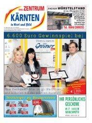 Ausgabe 10.2010 (PDF-Format, ca. 3,2 MB - Zentrum Kärnten in ...