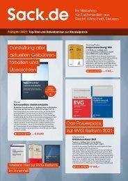 Frühjahr 2021: Top-Titel und Datenbanken zur Kanzleipraxis