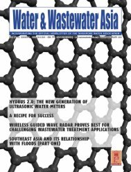 Water & Wastewater Asia January/February 2018