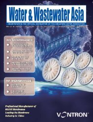 Water & Wastewater AsiaMay/June 2018