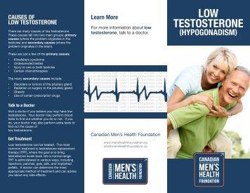 Low Testosterone (Hypogonadism)