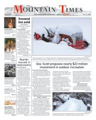Mountain Times - Volume 50, Number 5 - Feb. 3-9, 2021