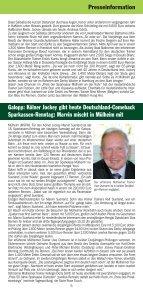 15. Sparkassen-Renntag - Mülheimer Rennverein Raffelberg eV - Seite 4