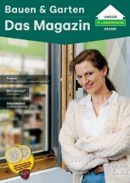 AXAMER Lagerhaus Katalog Frühjahr | Bauen & Garten_2021