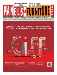 Panels & Furniture Asia January/February 2020