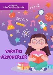 Vizyon Koleji Marina Kampüsü 3. Sınıf Dergi